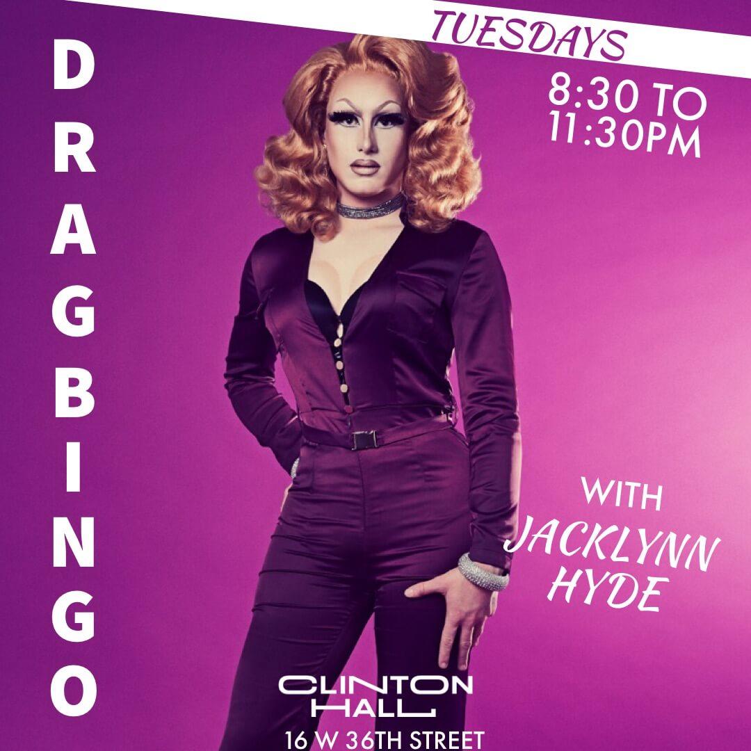 Clinton Hall Drag Bingo
